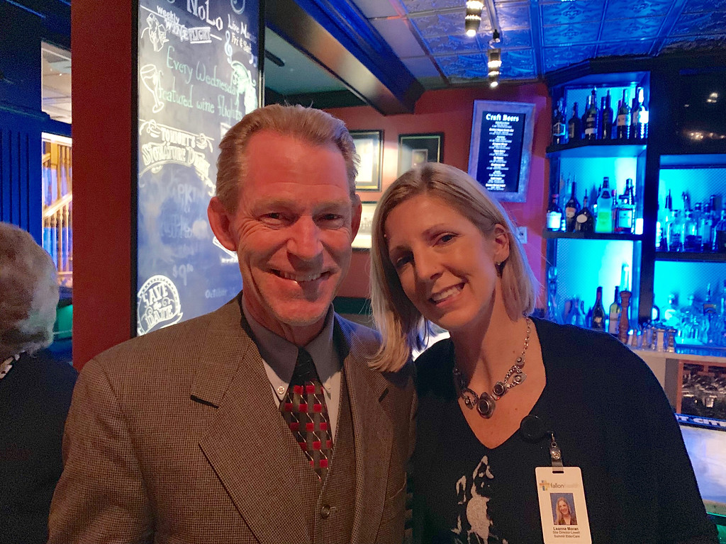 . Jim Sullivan and Leanna Moran, both of Westford