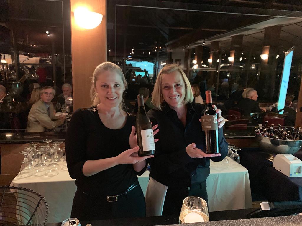 . Bartenders May Bond of Lowell and Diane Bujnowski of Nashua