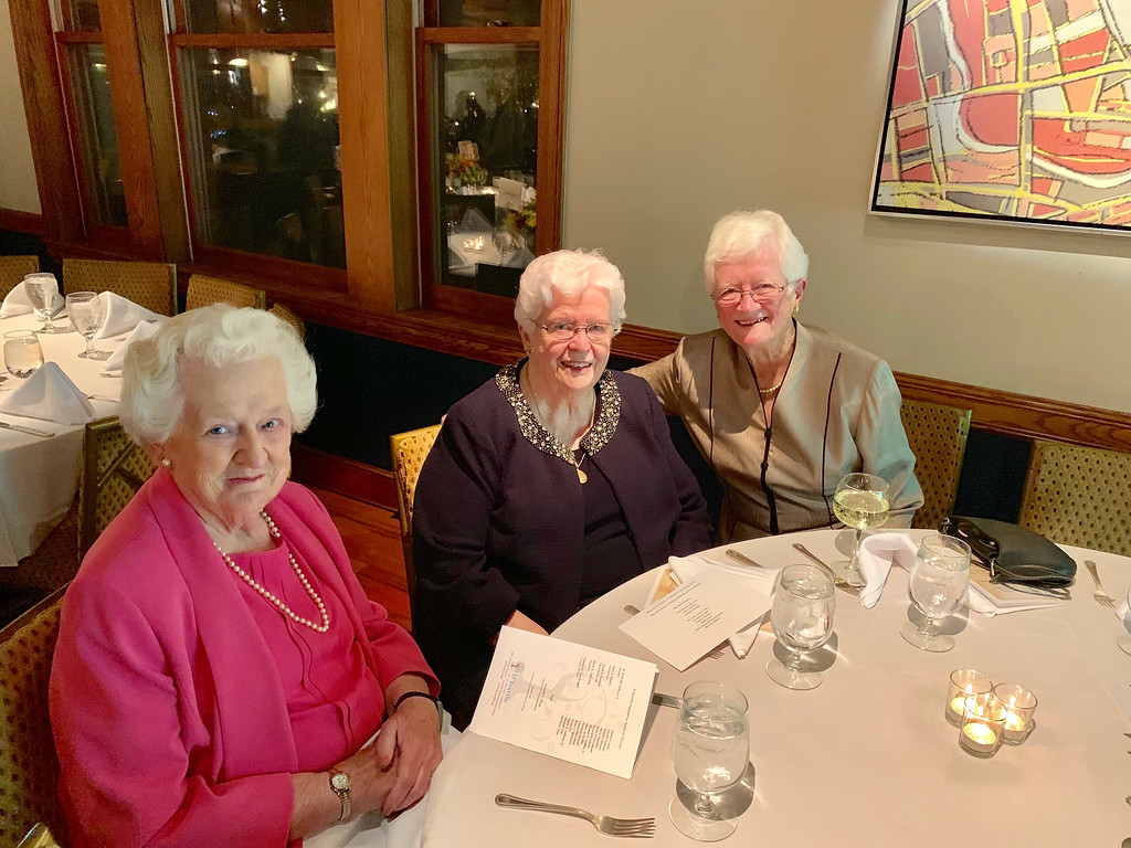 . From left, Helen McNamee, Mary Howe and Eleanor Sullivan, all of Lowell