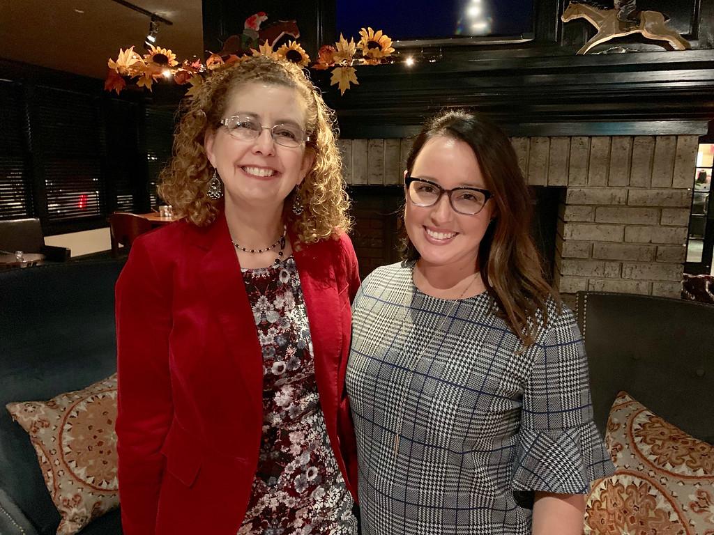 . Brenda Larochelle of Dracut and Catherine Casey of Lowell