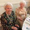 Lovely ladies Pauline Russeau and Helen Callahan of Lowell