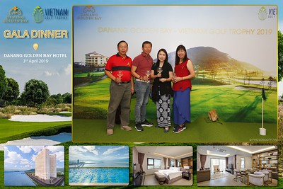 Da Nang Golden Bay - Vietnam Golf Trophy - Gala Dinner instant print photo booth - Chụp hình in ảnh lấy liền sự kiện tại Đà Nẵng
