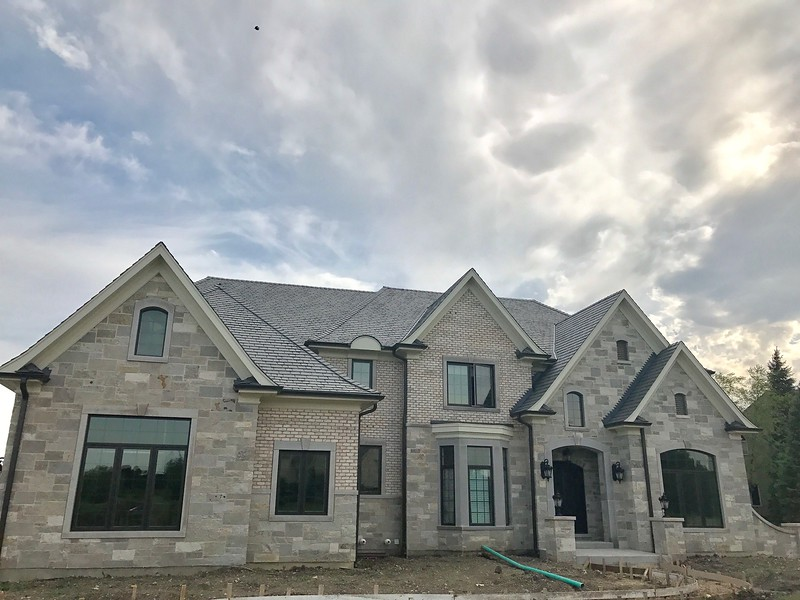 DaVinci Synthetic Slate Roofing and Gutters