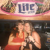 Tanya and Dacey at The Chicken Box back in the day