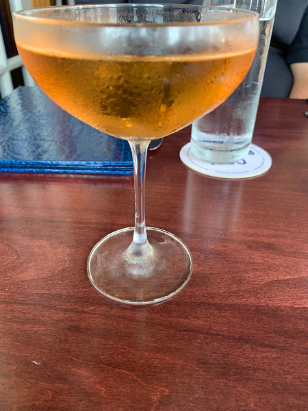 Nantucket's signature drink — rose champagne