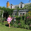 Gorgeous gardens at The Chanticleer in Siasconset