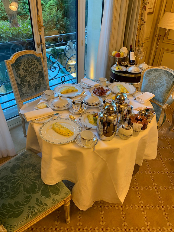. And this doesn\'t even include the two baskets filled with croissants and French pastries that we had every single day for breakfast.