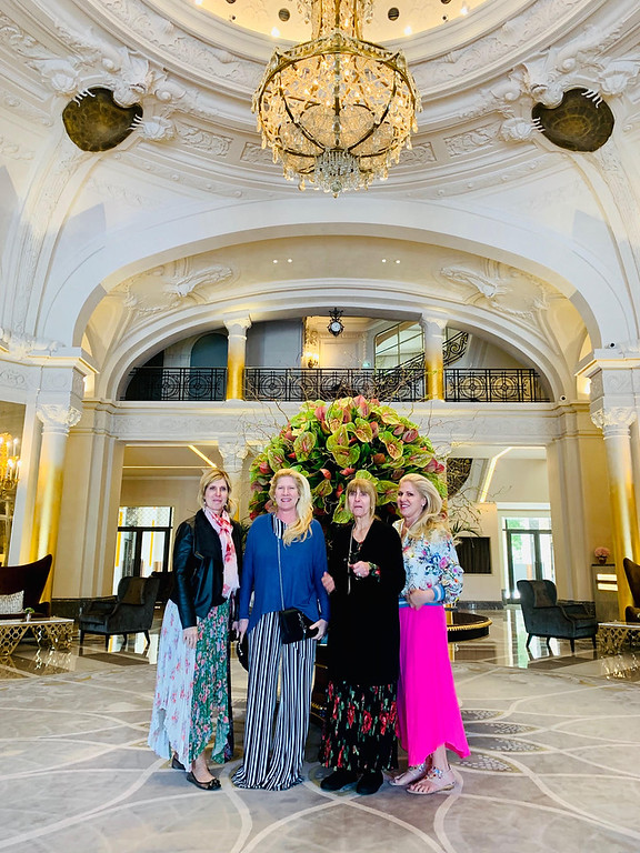 . The Zouzas sisters in the Hotel De Paris Monte-Carlo