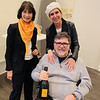 Elizabeth of Veuve waits for John and Elaine to try a 2008 vintage The Grand Dame makes after the Widow of Veuve.