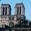 Notre Dame Cathedral still stands tall after the recent horrific fire.