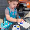 Loretta DaSilva of Lowell enjoys painting.