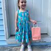 Loretta DaSilva of Lowell with a bag full of fun