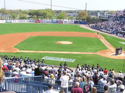 Baseball Yankee Spring Training 030606
