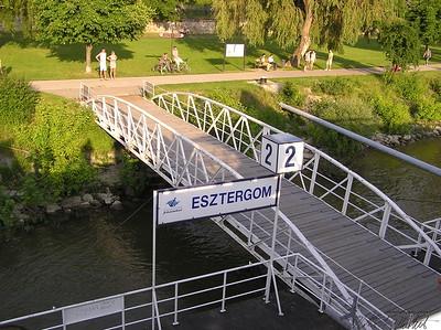 Danube river dock