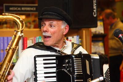 Dad on accordion