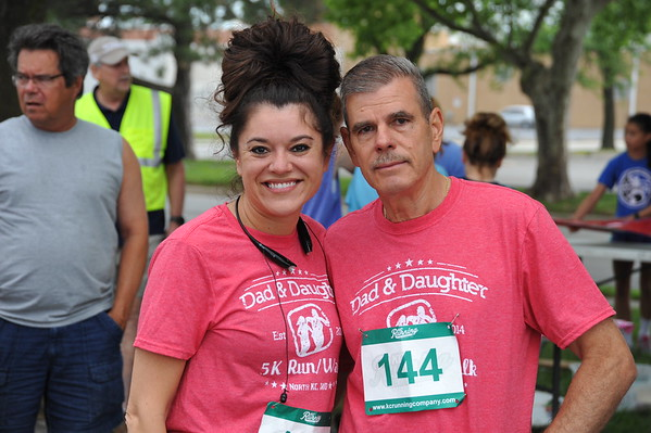 Dad and Daughter 5k 2018