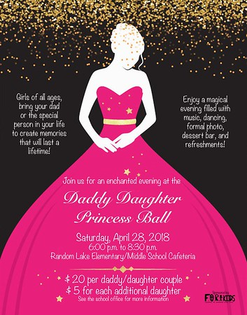 Daddy Daughter Princess Ball