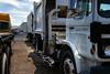Former Parks And Sons Mack Midliner Custom Automated Side Loader