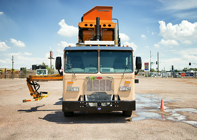 2014 Peterbilt Scorpion Automated Side Loader