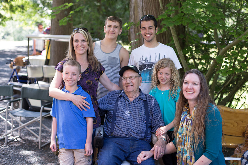 Dad's 90th Birthday Party