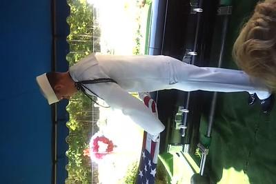Dad's Graveside  Rocky Sprimgs  Lisbom, La