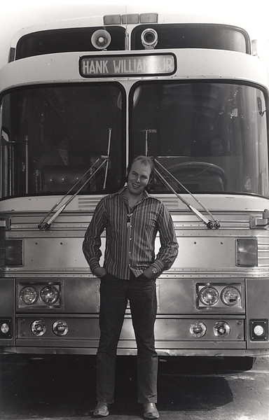 Hank Williams Jr and his Bus