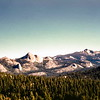 HIgh Sierras from Glacier Point Rd, Yosemite NP, CA, October 1952