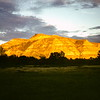 Sunset at Peaceful Valley, Theodore Roosevelt NMP, ND, September 1952