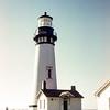 Light house,  Oregon coast, September 1953