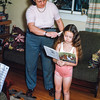 Combing Jean's hair, TRNMP Dec 1953