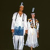 Hiawatha and Minnehaha, Hiawatha Pageant, Pipestone NM, MN, August 1954