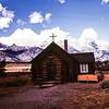 Chapel of the Transfiguration, Grand Teton NP, WY - 1959