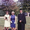 Bob graduation with Toddy and Mrs Reynolds, Phillips Exeter Academy, NH, 1963