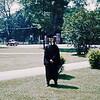 Bob graduation, Phillips Exeter Academy, NH, 1963