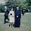Bob with Toddy Reynolds at graduation, Phillips Exeter Academy, NH, 1963