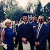 Bob graduation with Mr and Mrs Reynolds, Phillips Exeter Academy, NH, 1963