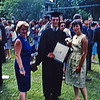 Bob graduation with Mrs. Reynolds and Toddy, Phillips Exeter Academy, NH, 1963