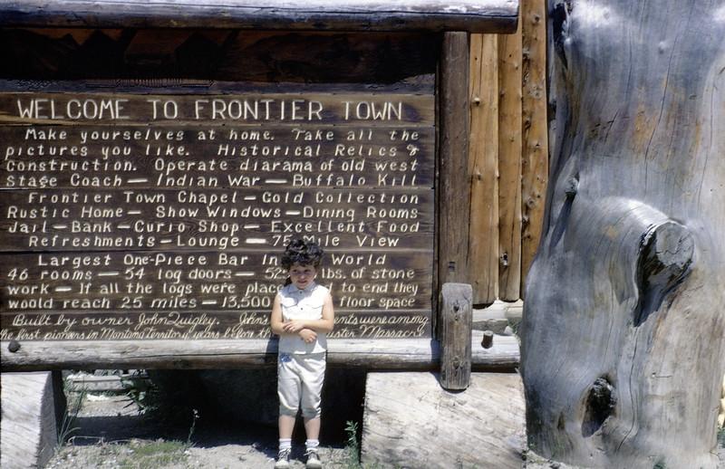Frontier Town, 1962.