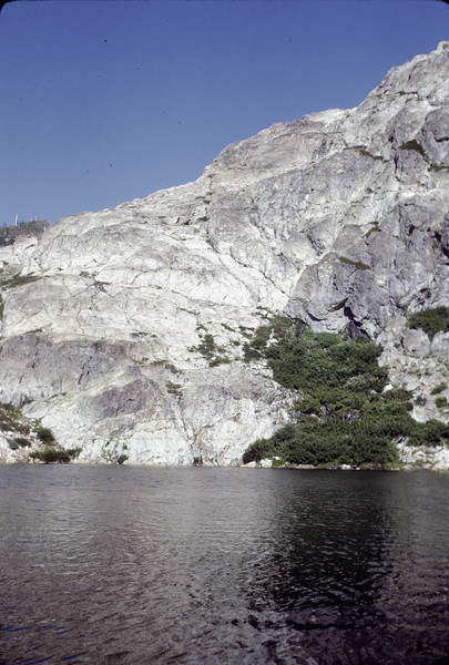 Spencer Lake, August 1973.