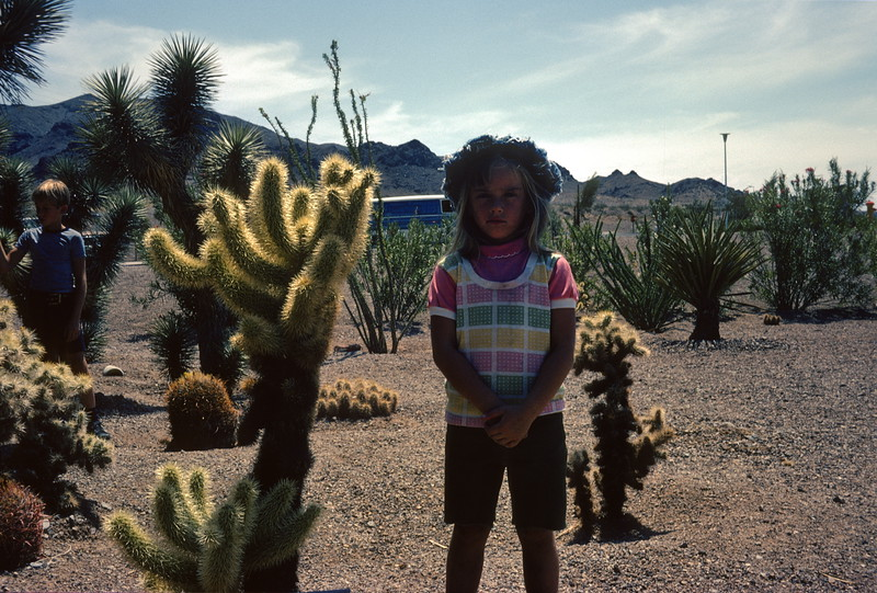 Boulder Beach Visitor Center, Lake Mead, Nevada, 1974.