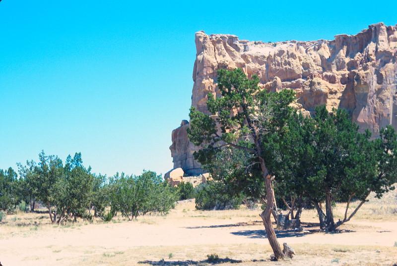 Picnic at Enchanted Mesa, New Mexico, 1978.