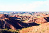 Petrified Forest National Park, Arizona, 1978. Painted Desert view from Tiponi Point.