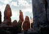Fiery Furnace Hike, Arches National Park, 1978.