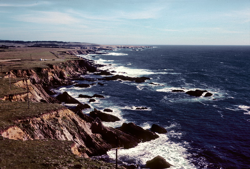 From the Point Arena Light Station, 1978.