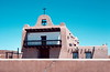 San Ildefonso Pueblo Church, New Mexico, 1978. Famous for burnished and matte blackware.