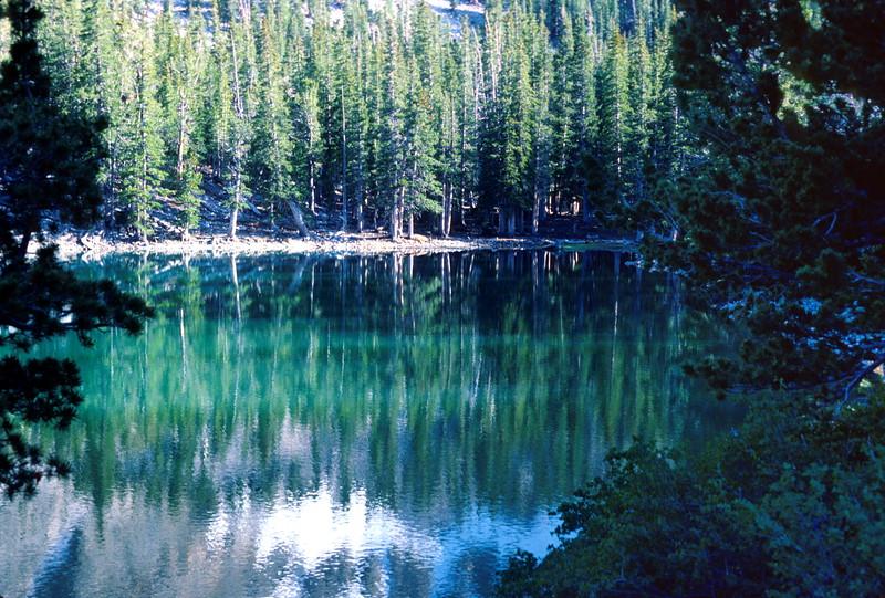 Teresa Lake, Wheeler Peak Area, 1978.
