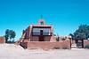 San Ildefonso Pueblo Church on the Rio Grande, New Mexico, 1978.