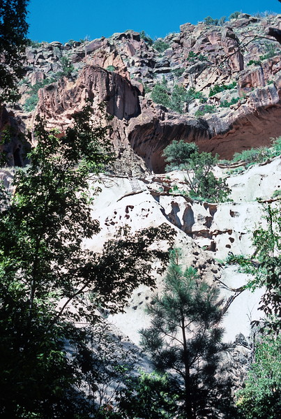 Cermonial Cave, Bandelier National Monument, New Mexico, 1978.