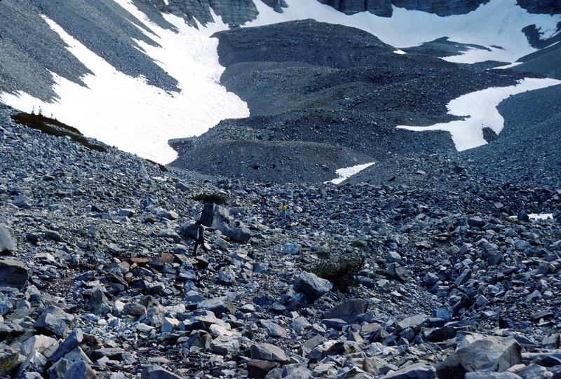 Ice Field and Cirque, Wheeler Peak, Bristlecone Pine - Glacier Trail, 1978.