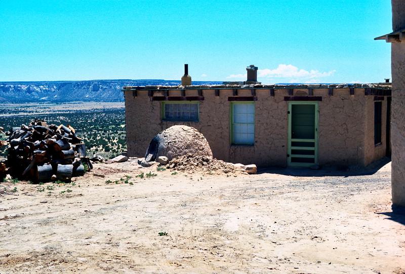 Pueblo of Acoma - Sky City, New Mexico, 1978.
